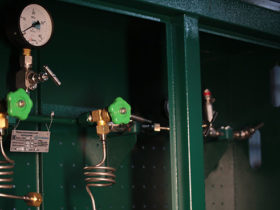 Рампа водородная в шкафу