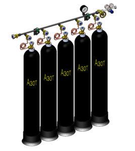 Рампа разрядная РР азот