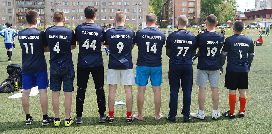 Футбольная команда ООО Криотехника