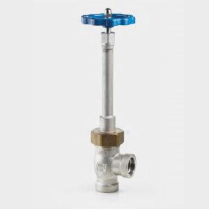 Вентиль криогенный угловой с длинным штоком CCK DJ64F-40P