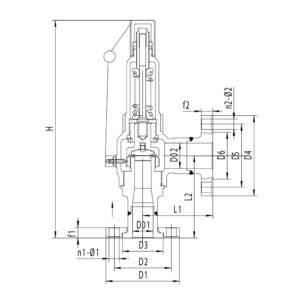Предохранительный-клапан-Серия-DA22Y-4063P