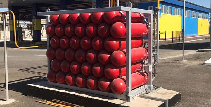 Блоки аккумуляторов газа