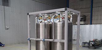 Газификатор для газотермического напыления