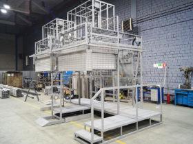 Наполнительный комплекс для баллонных сборок и моноблоков