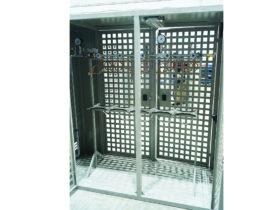 Рампа в вентилируемых шкафах под азот