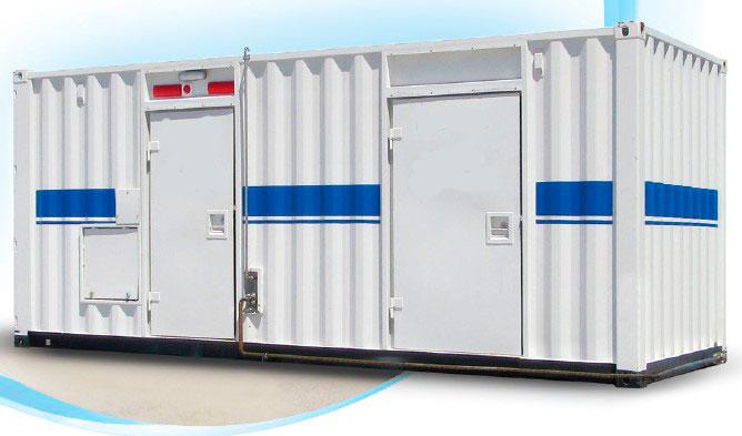 Кислородный концентратор в контейнере