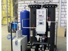 Адсорбционная азотная установка