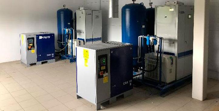 Фото адсорбционной азотной станции