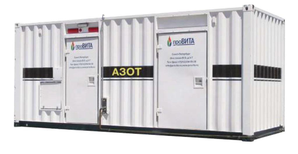 Мембранные азотные генераторы, установки и станции